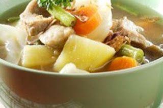 Resep Sop Sederhana Sedap Enak Banget   Resep Masakan Spesial Enak Lezat