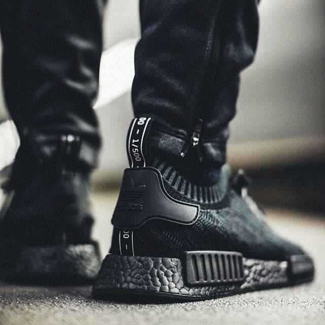 Triple Black Adidas NMD.