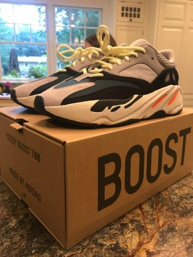 d0491258d7f80 Details about 100% AUTHENTIC ADIDAS YEEZY BOOST 700 KANYE GREY WAVE ...