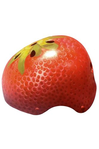 I need this strawberry bike helmet. Too bad, $280 doesn't make it budget friendly #Refinery29
