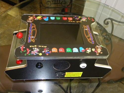 New Ms Pacman Galaga Mini Cocktail Table Arcade Multicade
