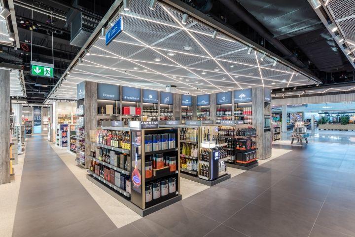 Terminal 2 Duty Free shop by Gruschwitz & Umdasch Shopfitting, Munich Airport – Germany » Retail Design Blog