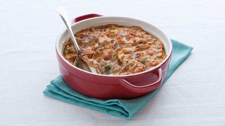 Trempette chaude tomate et artichaut