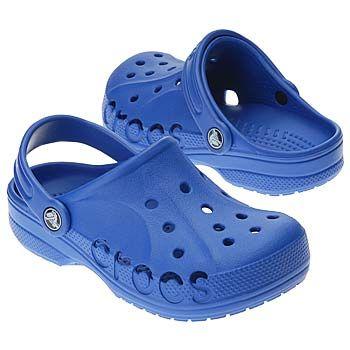 "The true blue @Crocs Shoes Shoes Kids ""Baya""."