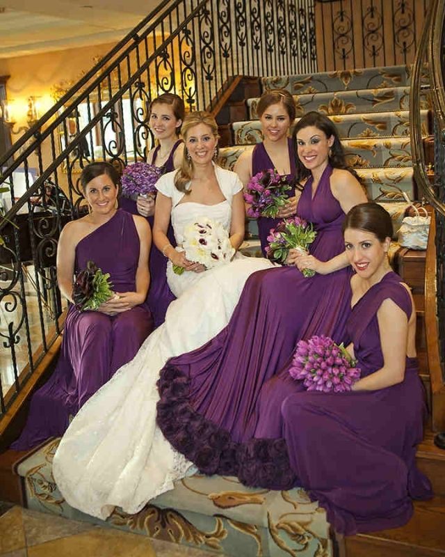 78 best Shades of Purple | twobirds Bridesmaid images on Pinterest ...