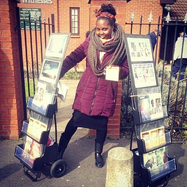 Public witnessing in London, England. Photo shared by @Melinda W W W Lindsay