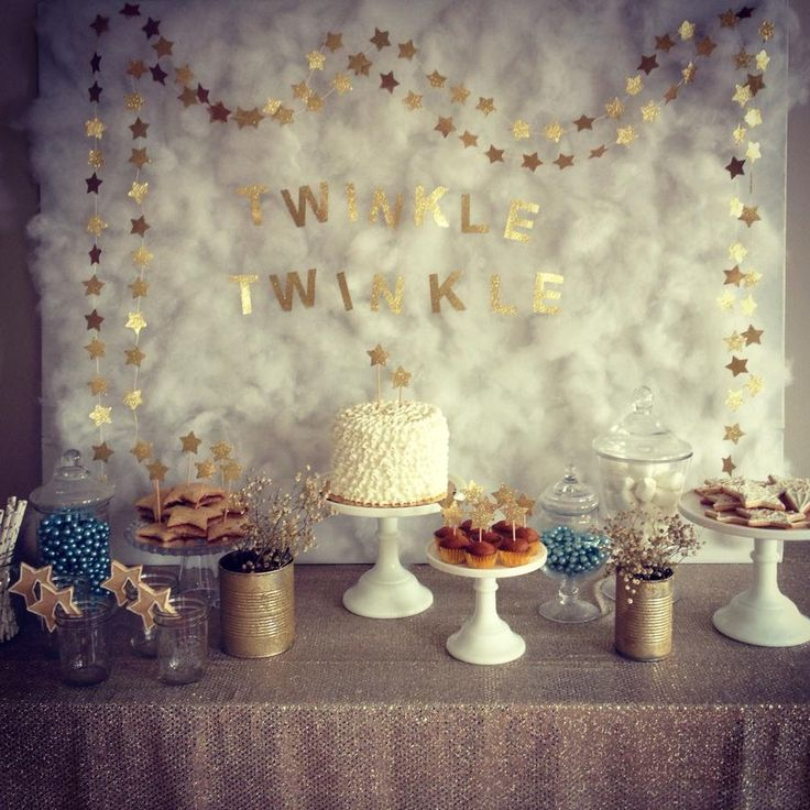 12 best baby shower theme images on pinterest twinkle twinkle hostess with the mostess twinkle little star birthday party baby shower altavistaventures Images
