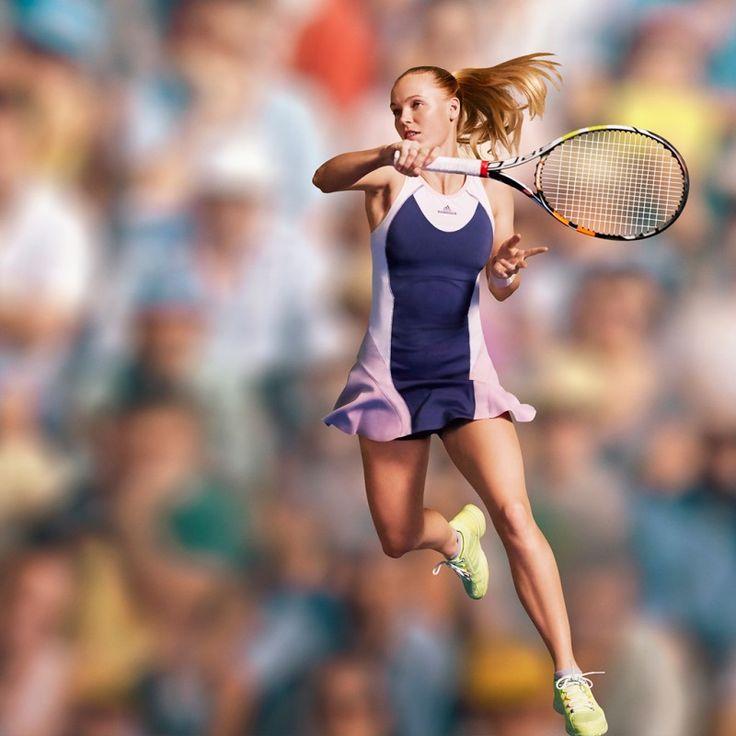 Caroline Wozniacki adidas Stella McCartney US Open