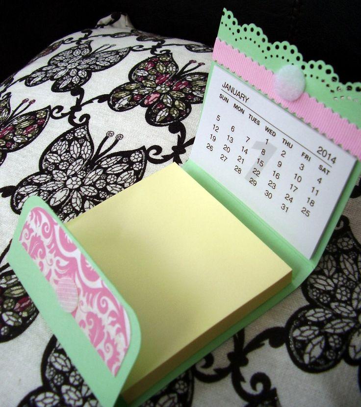post it com calendário...