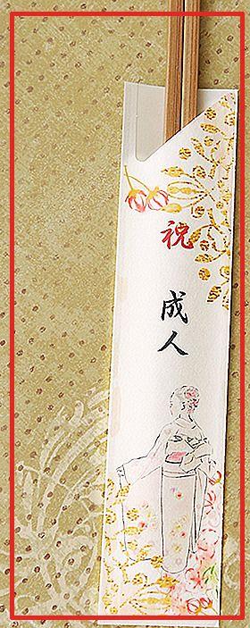 お祝い 成人の日 箸袋