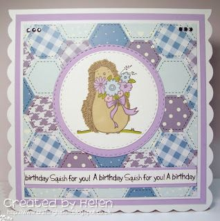 Using 'Lovely Hedgehogs' from Little Claire