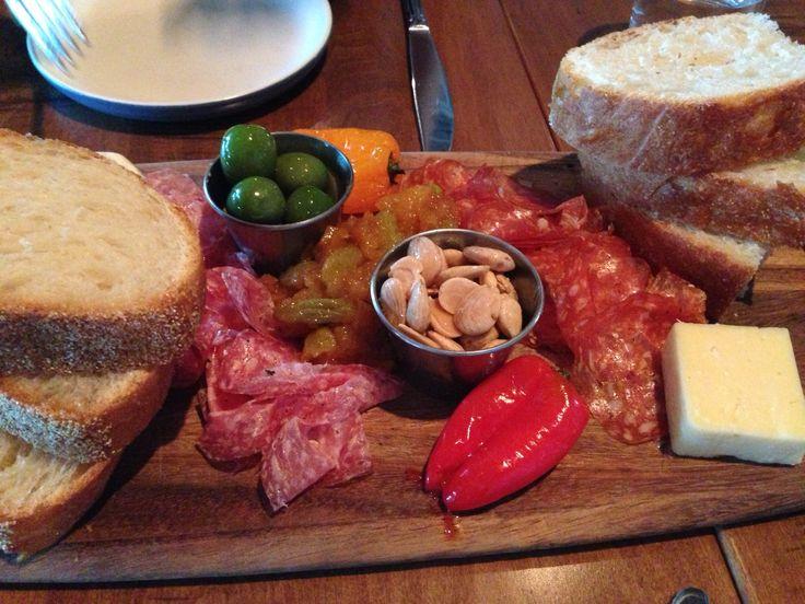Board of delicacies. North Fattoria Italiana. Tucson