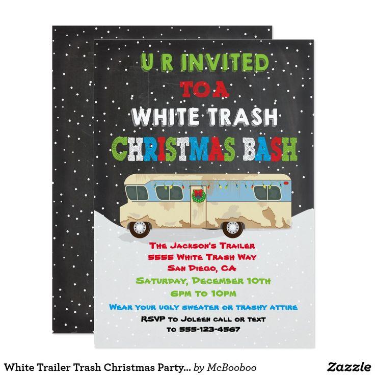 White Trash Christmas Decorations: Best 25+ Trailer Trash Party Ideas On Pinterest