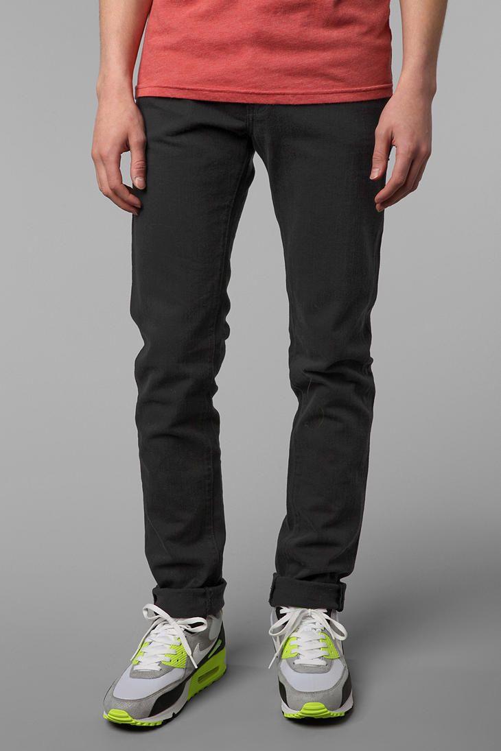 Orange Mens Jeans