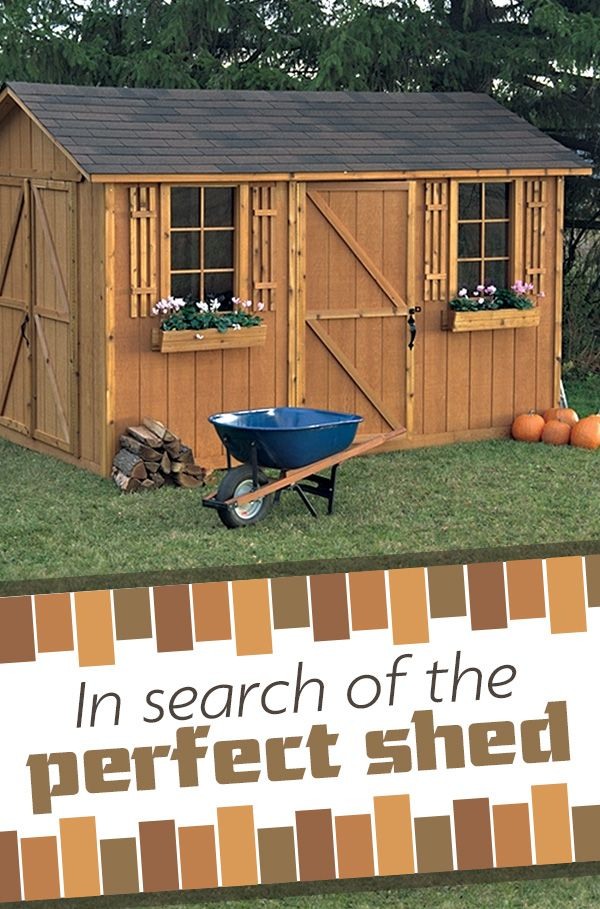 4 simple steps to help you pick the perfect shed