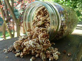 Quinoa Applesauce Granola.