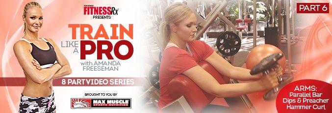 Train Like a Pro Video #6 | FitnessRX for Women