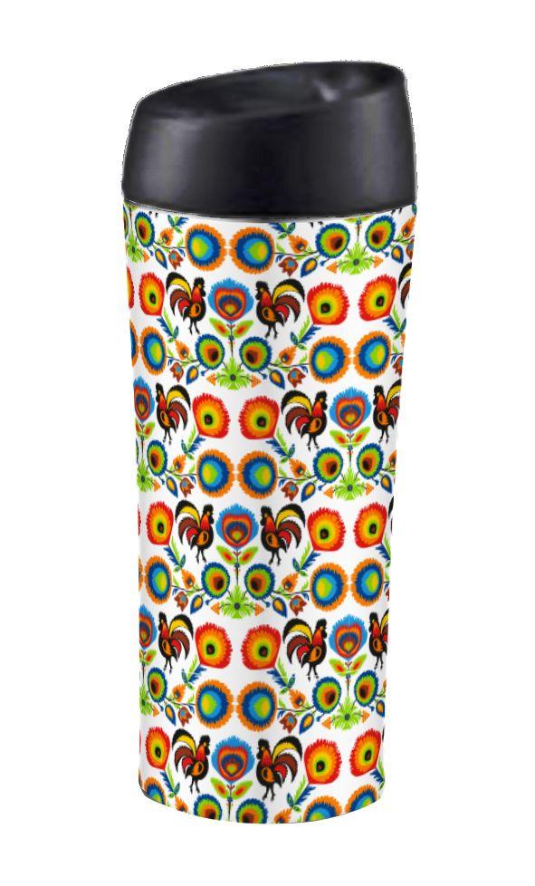 FOLK! Kubek termiczny ze stali nierdzewnej, 400 ml, z kolekcji marki AMBITION