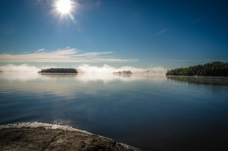 """A sunny morning in the Whiteshell. 500px / Photo """"White Shell"""" by Alexandre Minev"""