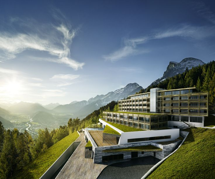 Panorama view from brand new 5 star for friends hotel in for Luxury hotels austria