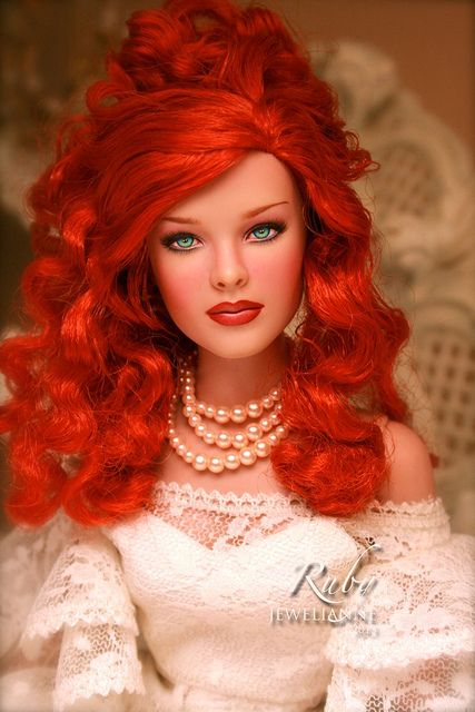 Beautiful OOAK doll