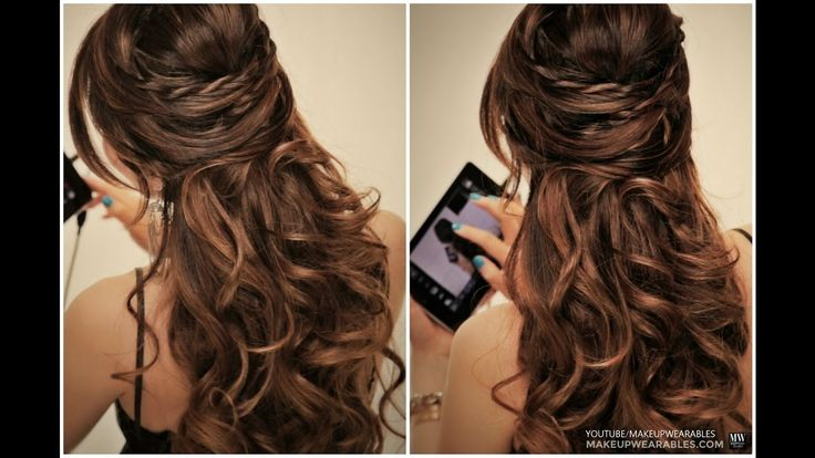 Awesome Hairstyle   3 MINUTE Hairstyle   College girls hair style