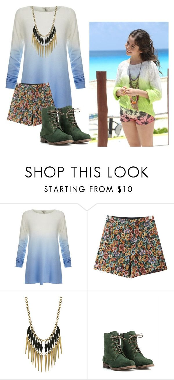 """soy luna"" by maria-look ❤ liked on Polyvore featuring Joie, Chicnova Fashion, Miso and JJ Footwear"