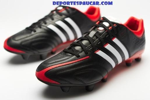 Adidas Adipure 11pro Negra-Roja-Blanca - Botas De Futbol Deportespaucar