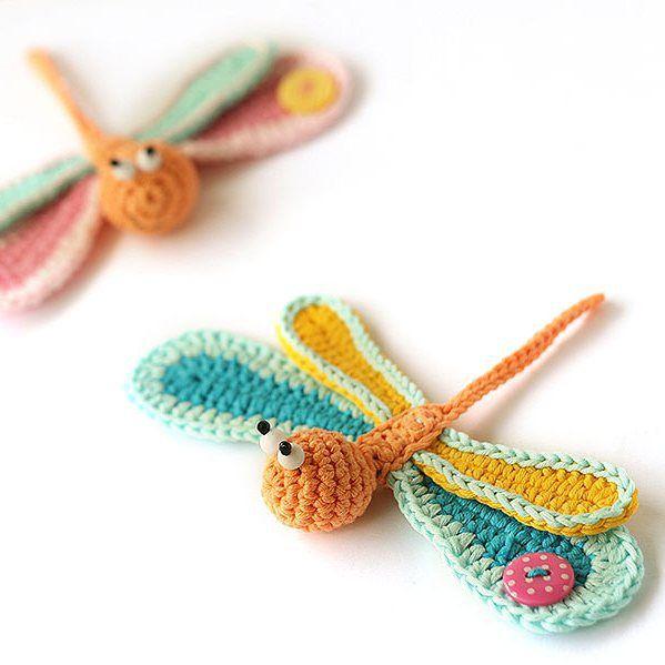 Amigurumi Dragonfly : Best amigurumi butterflies dragonflies images on