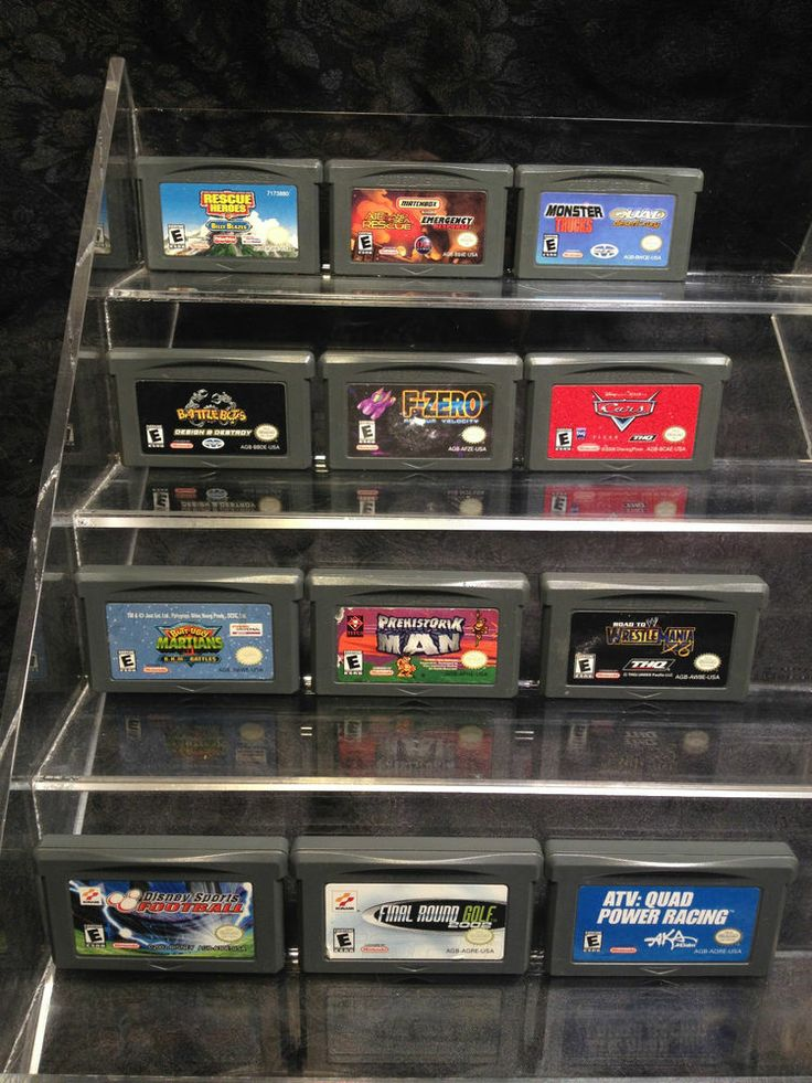 Lot of 12 Nintendo Game Boy Advance Boy Games. Cars, Rescue Heroes, Battlebots..