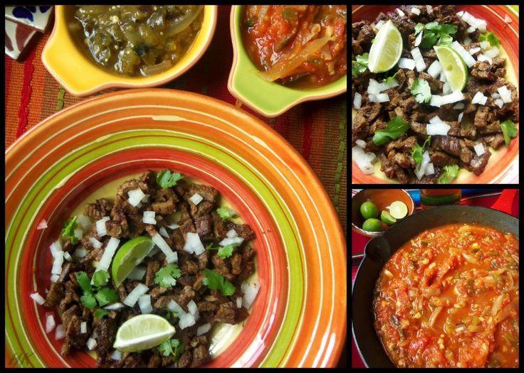 Smoked Salsa Borracha for Carne Asada - Hispanic Kitchen