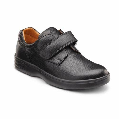 Dr Comfort Maggy Womens Therapeutic Diabetic Extra Depth Shoe Black 10  XWide E2E Velcro * Check