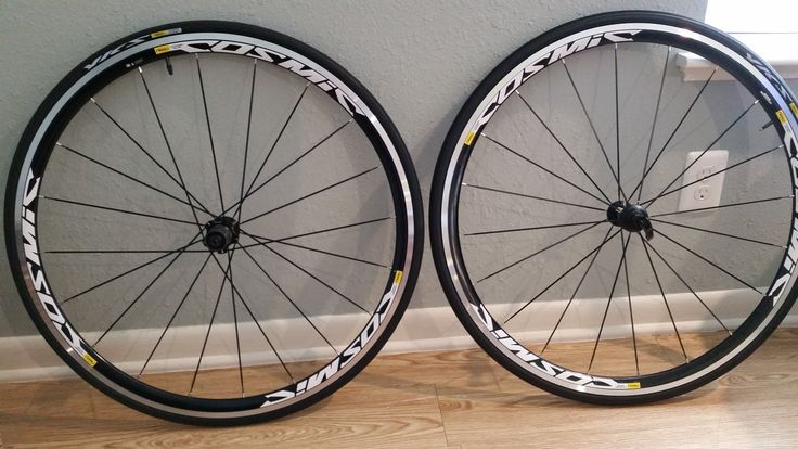 NEW Mavic Cosmic Elite S Wheelset Shimano/SRAM 10/11 $400.00 http://www.reqwip.com/product/54e3afe638b4f30c009578a2/ Manufacturer: mavic Condition: new Seller: Gray Description: Additional Info (components, group set, crank, wheel set, saddle, fork, stem, brakes, tires, pedals, etc.) Location: Shoal Creek Blvd, Austin, TX, USA