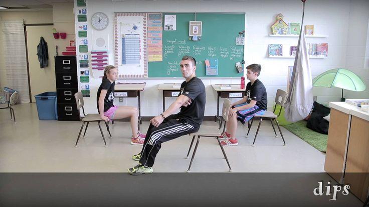 Bouge en classe avec Jeunes en santé# 5