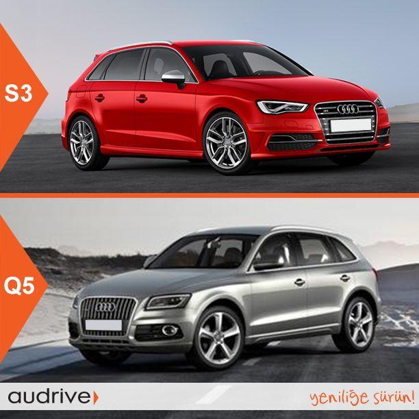Güçlü Q5 mi, sportif S3 Sportback mi? Hangisi tarzınıza daha yakın?