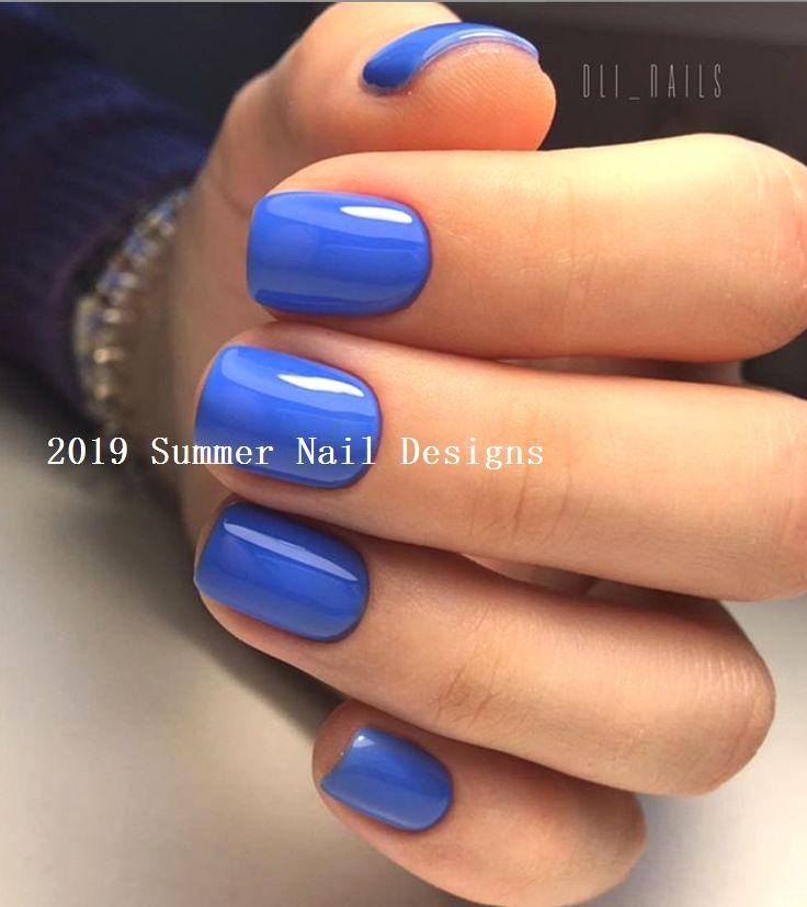 33 Cute Summer Nail Design Ideas 2019 Summernaildesigns Nailart