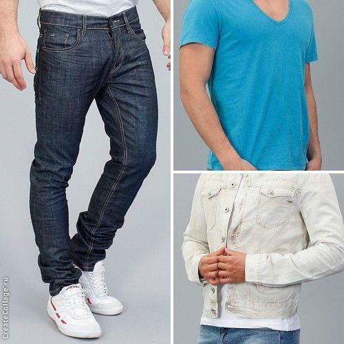 Чтобы создать стильный и запоминающийся образ – выберите look с яркой синей футболкой и джинсами от Tom Tailor, и белой курткой от GAS. Идеальный street casual подойдет для летних вечерних прогулок, встреч с друзьями, ночных тусовок и мероприятий.  http://donothing.com.ua/products/SE010275?cID=13  http://donothing.com.ua/products/SE008298  http://donothing.com.ua/products/SE008793