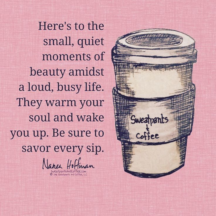 Coffee has its place in life.
