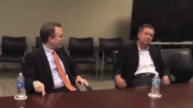 Paper Demands Liberal Blog Pull Video Of Kasich's Awkward Interview