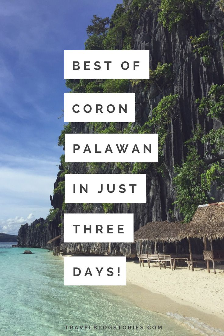 Great ideas for seeing Coron, Palawan, Philippines in just three days! Best Places to Visit on the Map | Twin Lagoon, Coral Garden, Skeleton Wreck, Banol Beach, Kayangan Lake, Barracuda Lake, Malcapuya island, Cheron Island | Mt. Tapyas | KT's Sinugba Sa Balay cafe, Altrove Coron cafe #travelblog #travelguide