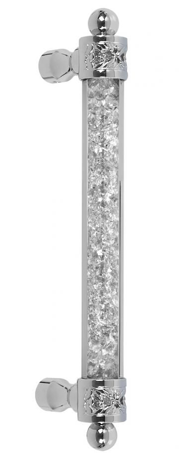Atlantic 2 Acrylic Door Pull Handle Diamond Sparkle Appliance Cabinetry