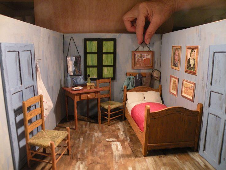 Quot Bedroom In Arles Quot Van Gogh Miniature Roombox My
