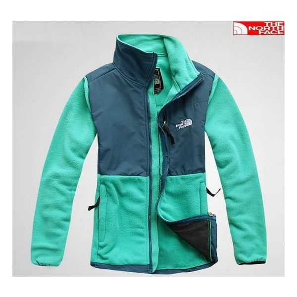 The North Face Denali Jacket Women Green [Blue North Face 001] - $68.95 : The North Face Jackets Sale, Cheap North Face Jackets Outlet Clearance found on Polyvore