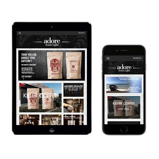 We transformed the website design into smartphone and tablet friendly!  Get a free mockup design on our design.