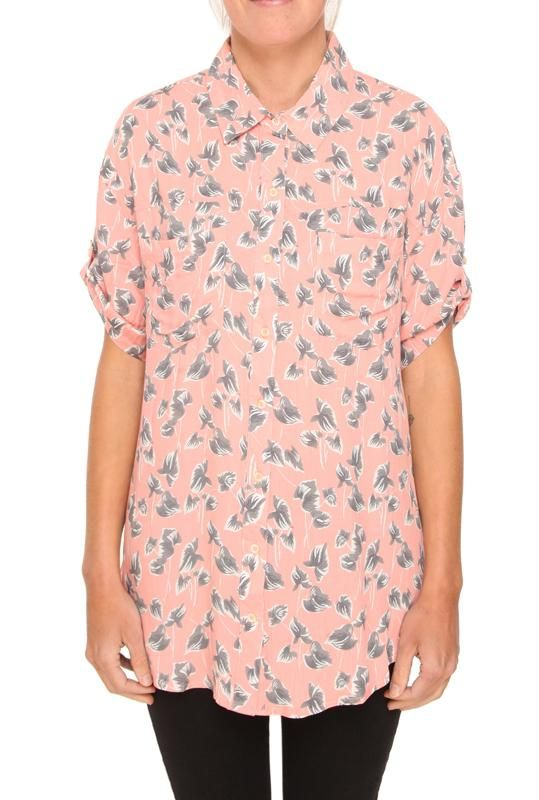 LUCY BUTTON DOWN SS
