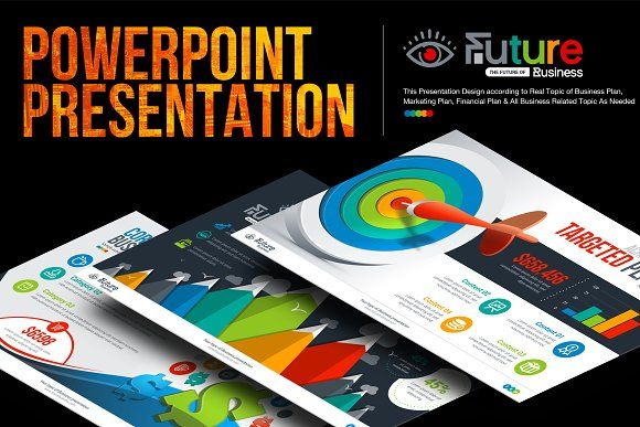 BusinessPlan PowerPoint Presentation by ContestDesign on @creativemarket