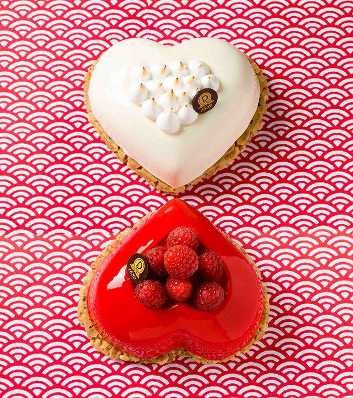 Pâtisserie de saint valentin chez dalloyau #valentines #saintvalentin #coeur http://www.cestmoilechef.fr/les-patisseries-de-la-saint-valentin-partie-1-les-grandes-maisonstissiers/