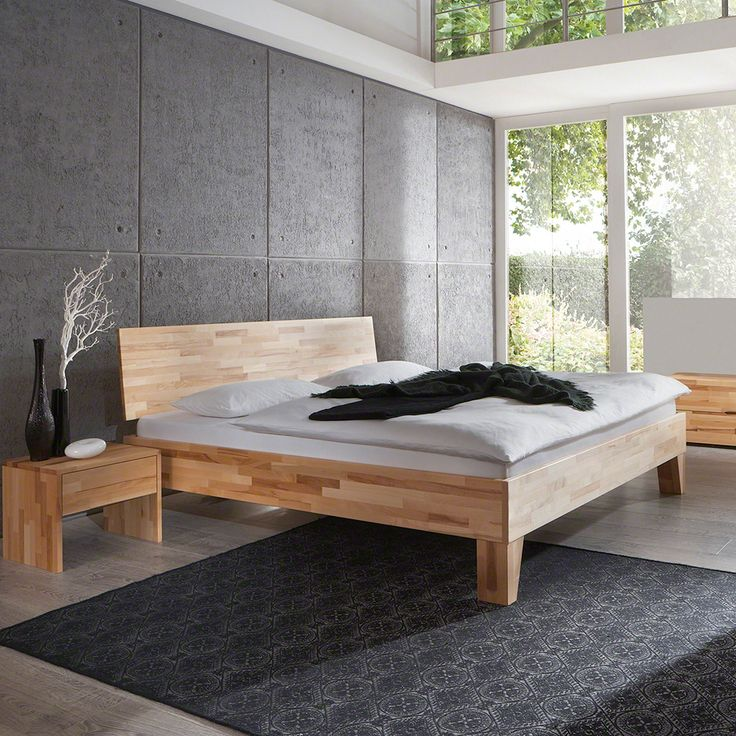 90 best Wohnen images on Pinterest Bedroom ideas, Home ideas and - schlafzimmer holz massiv