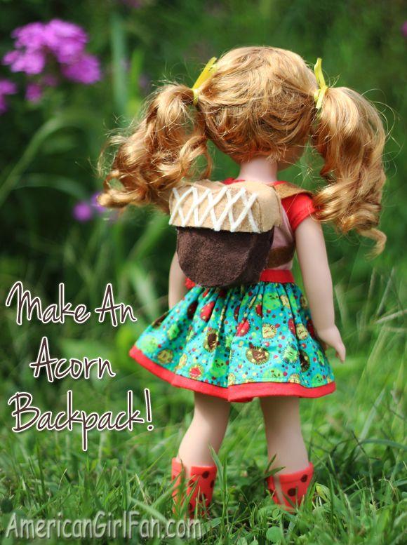 American Girl Acorn Craft
