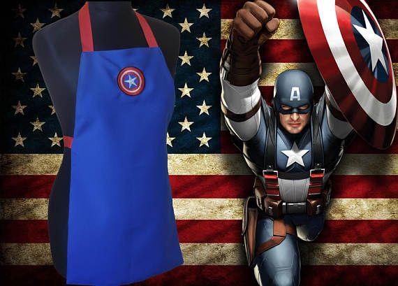 Grembiule per bambini Capitan America Captain America
